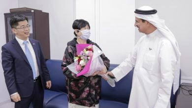 Photo of WATCH: First novel coronavirus patient in UAE recovers