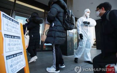 South Korea reported 161 new cases of COVID-19