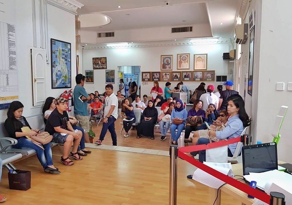 "PH Embassy in Bahrain Conducts ""First Friday Services"" For 2020"