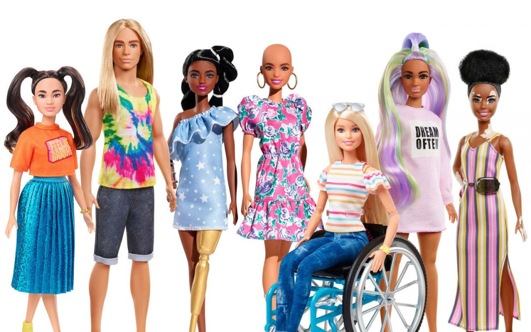 Hairless, disabled Barbie dolls launched to promote diversity