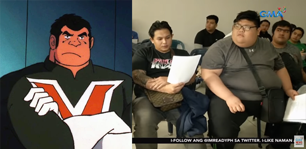 """Heavyweight contenders vie for """"Big Bert"""" role in Voltes V revival"""
