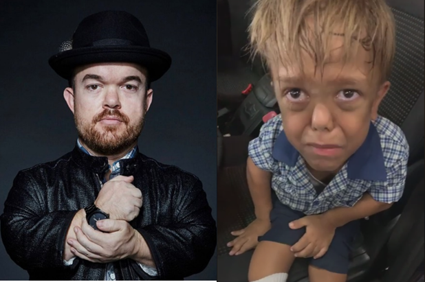 Comedian helps raise fund for bullied kid with dwarfism