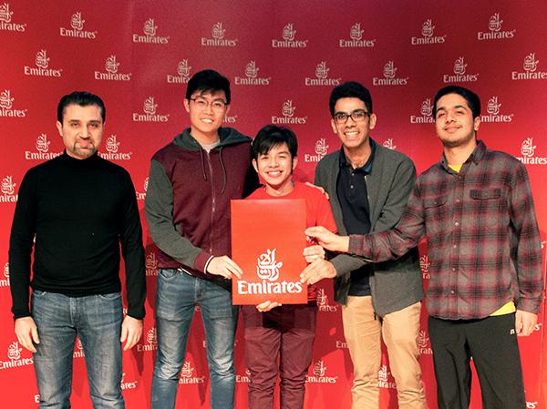 Emirates taps into the future at Carnegie Mellon University