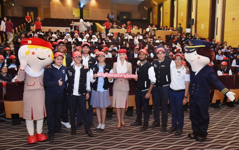 Emirates Group inspires around 250 students to discover its diversity
