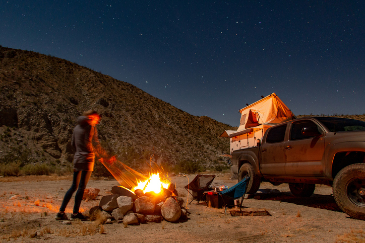Things to bring on a camping trip