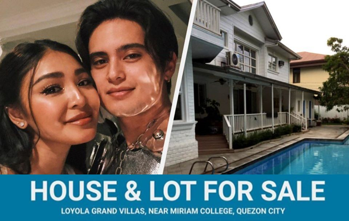 James Reid sells house he once shared with Nadine Lustre