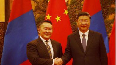 Photo of Mongolian President under quarantine after China visit