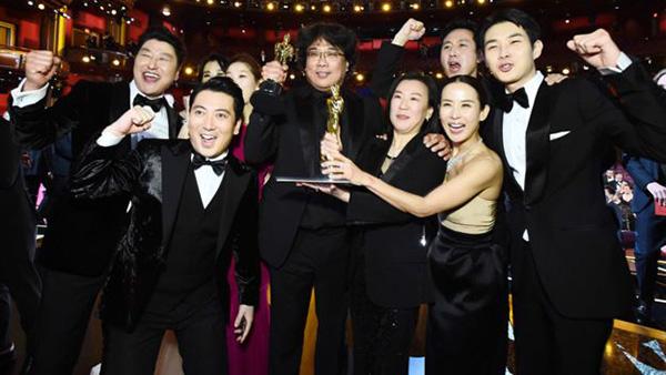 Parasite makes history at Oscars 2020