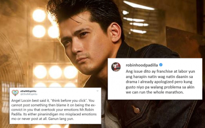 Robin Padilla strikes back at ABS-CBN exec's comment on his apology