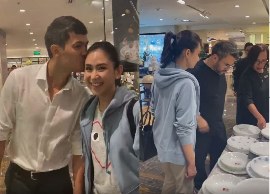 LOOK: Newlyweds Matteo and Sarah go shopping for their new house