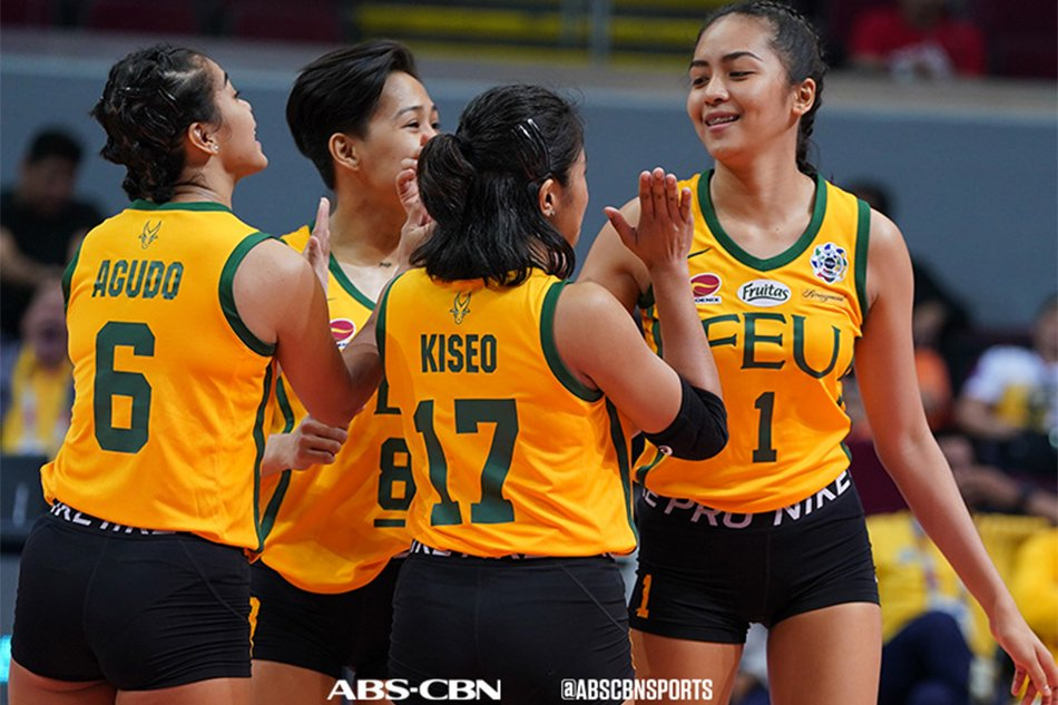 FEU's Lycha Ebon marks triumphant return, sweeps UE at opening game of UAAP Season 82