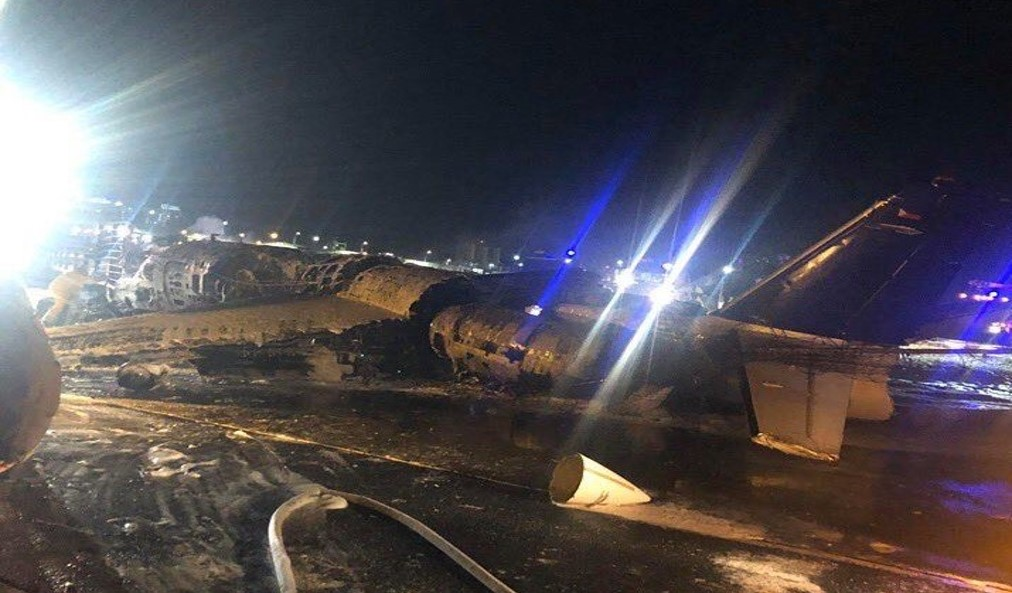 BREAKING: Plane bound for Japan crashes during take off at NAIA, eight people dead