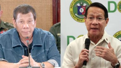 Photo of Duterte rejects senators' call for Duque's resignation