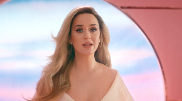 Katy Perry announces pregnancy in new music video