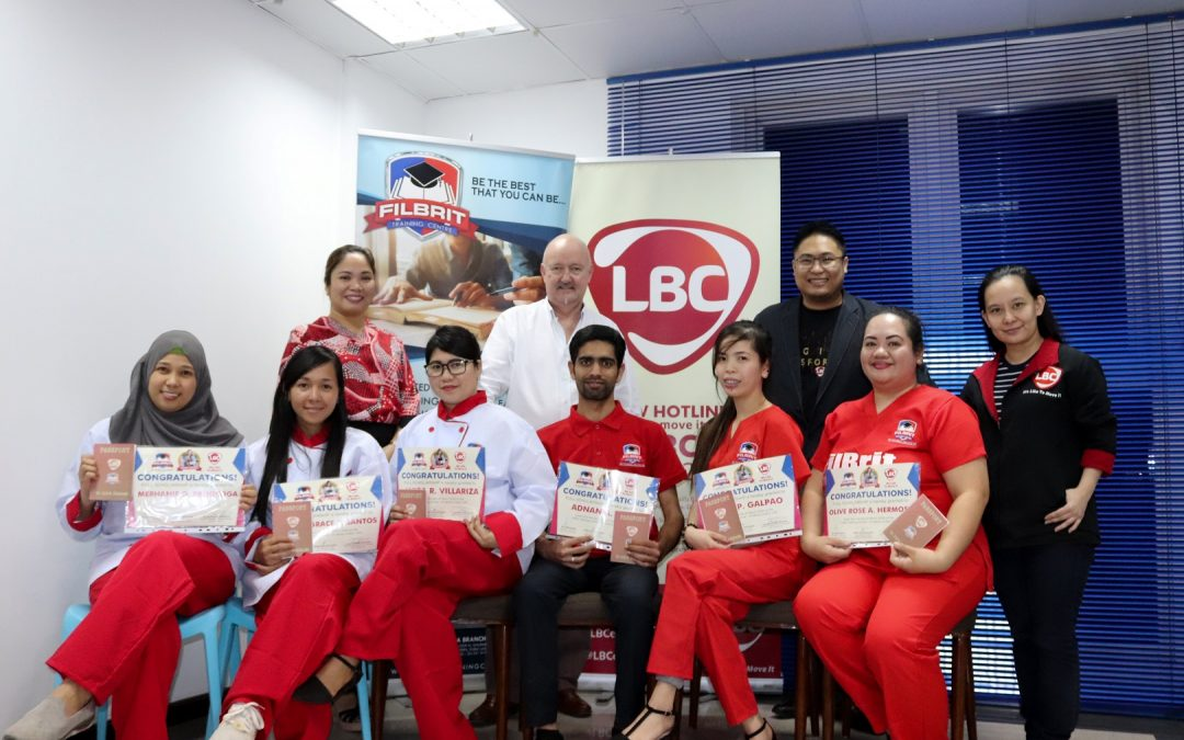 Filipinos to enjoy fully paid scholarships from LBC-FilBrit Training Centre tie up