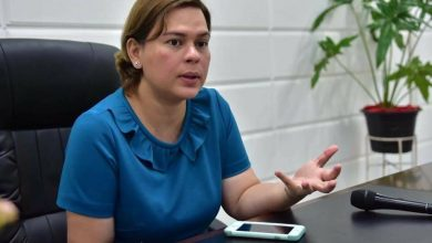 Photo of Sara Duterte thanks supporters; denies she's running for president in 2022
