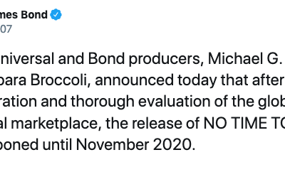 James Bond film release date reset, amid coronavirus