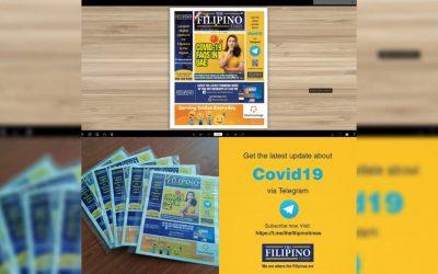 The Filipino Times launches e-Newspaper, Telegram group
