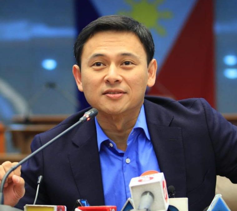 Sonny Angara recovers from COVID-19, returns home