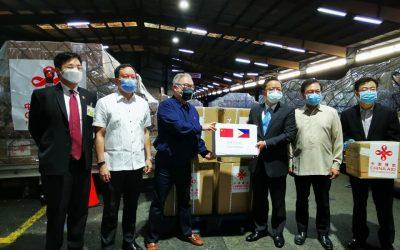 China donates additional medical supplies to PHL