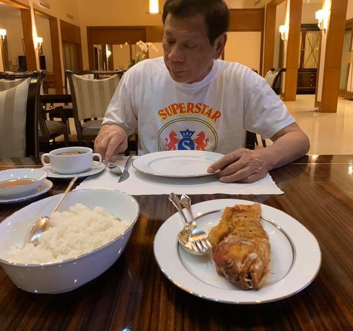 Duterte marks 75th birthday in self-quarantine