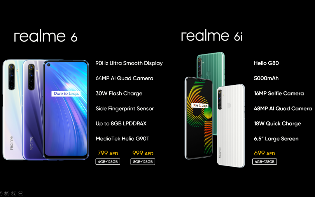 realme launches its all-new, realme 6 and 6i