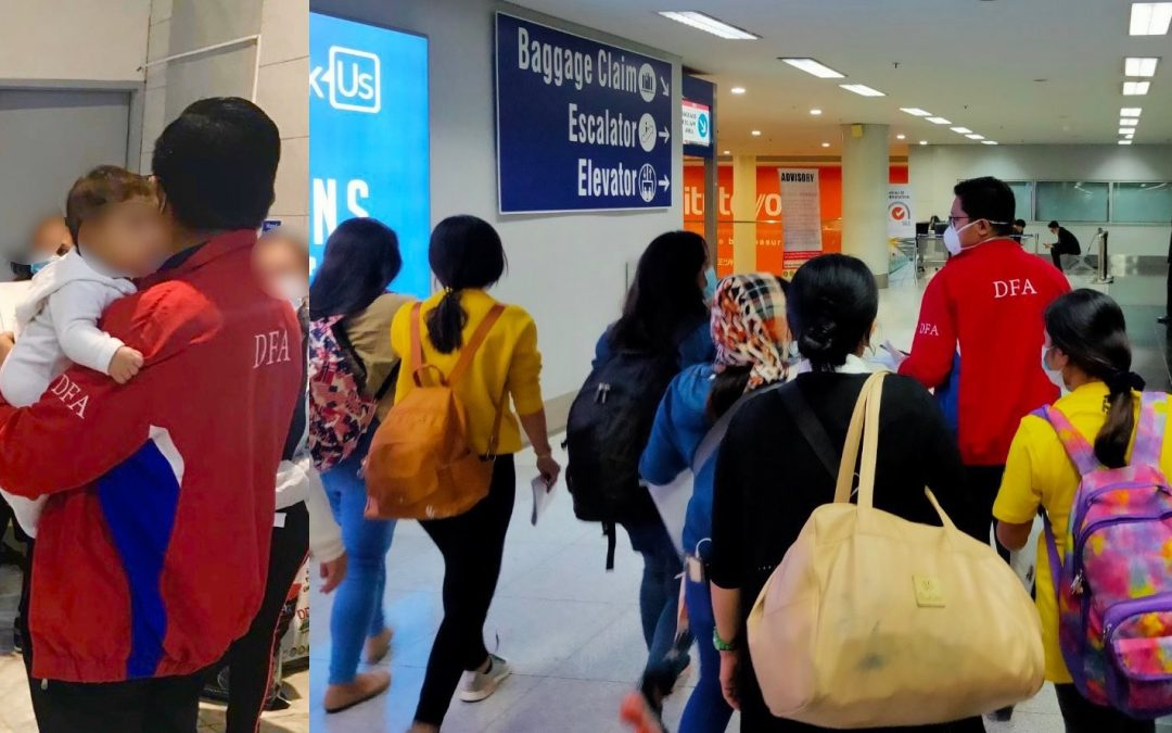 PH anticipates return of 300,000 OFWs this 2020