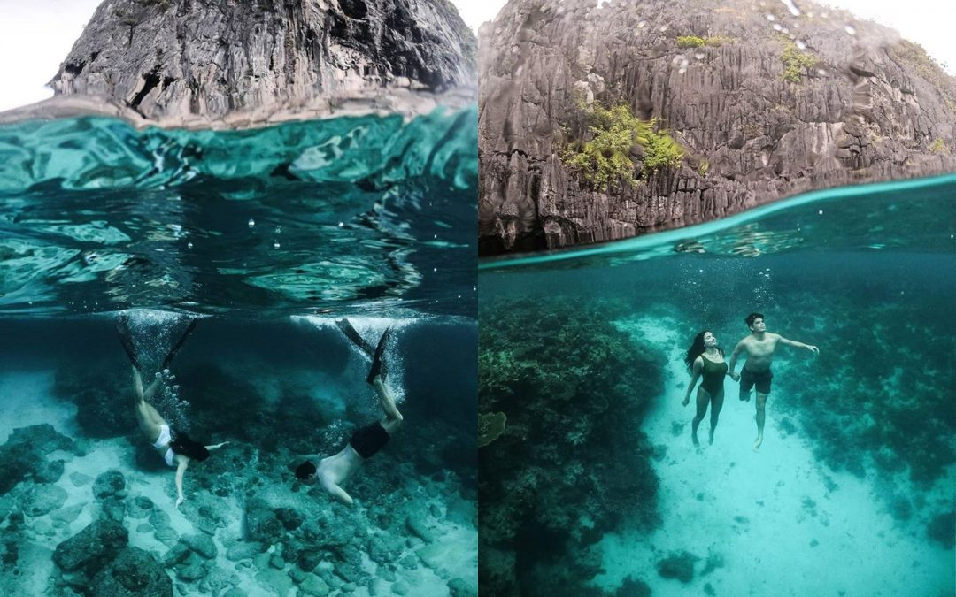 LOOK: Sarah Lahbati, Richard Gutierrez stun in underwater prenup photos
