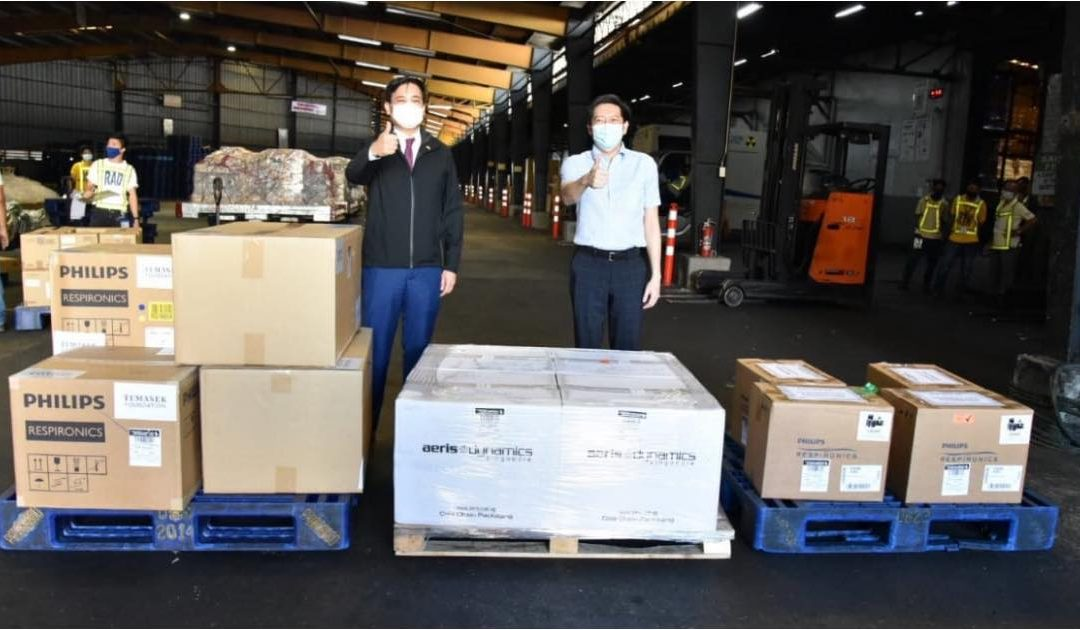 Singapore donates 40,000 COVID-19 test kits to PH