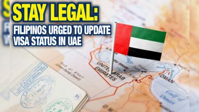 Photo of Stay legal: Filipinos urged to update visa status in UAE