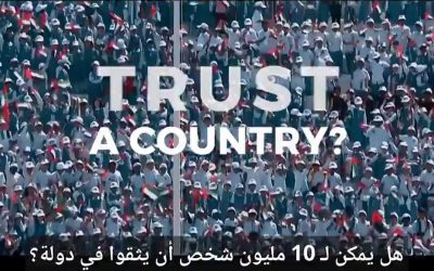 UAE shares inspirational video: Can 10 million people trust a country?