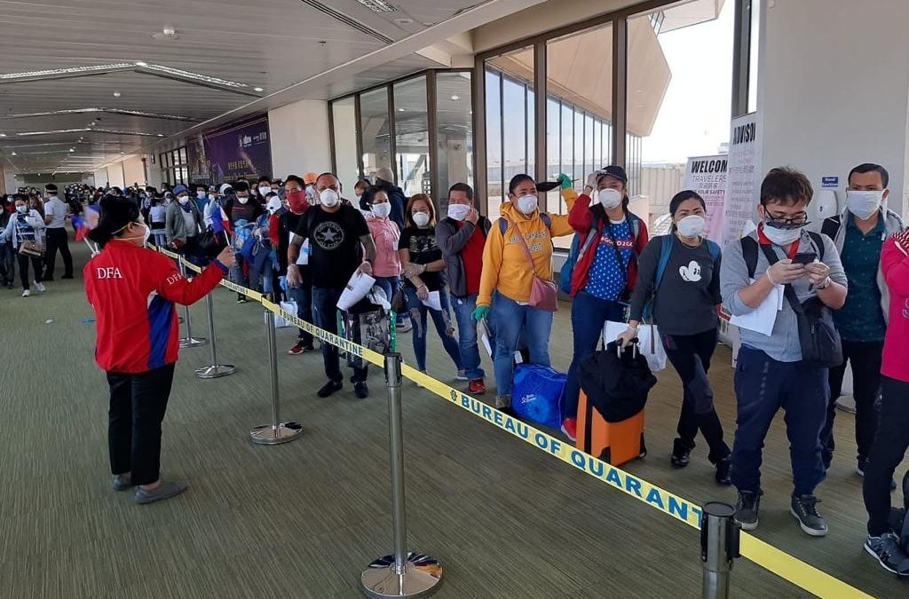 400,000 OFWs on the brink of losing jobs, getting pay cuts due to COVID-19 pandemic