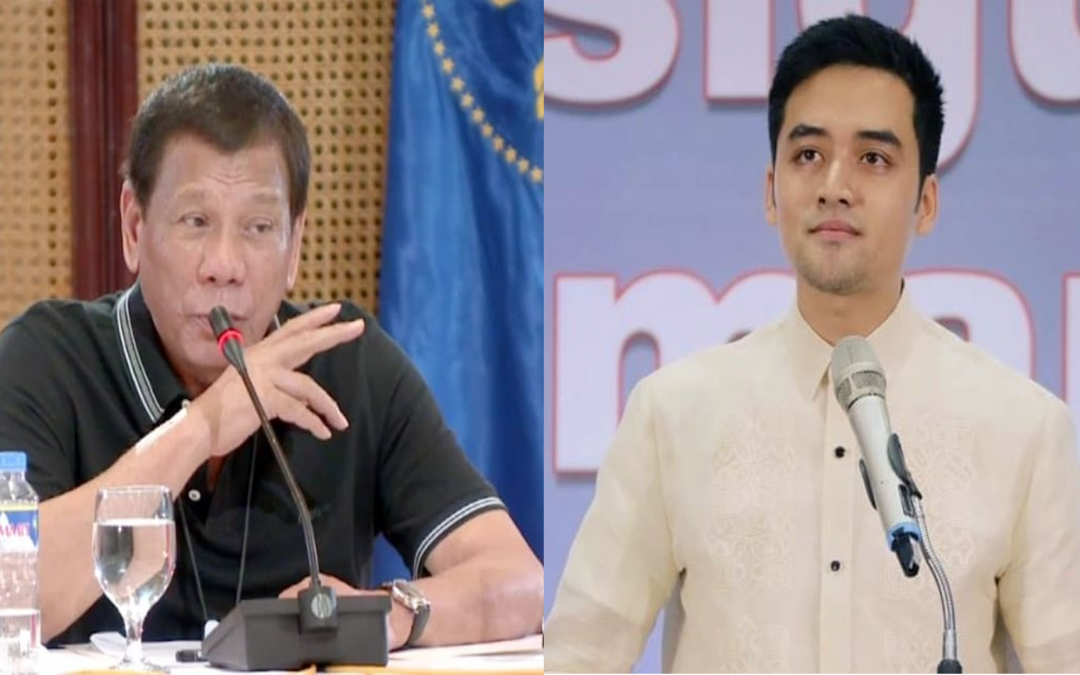 Wala akong pakialam': Duterte denies involvement on NBI's probe against Vico Sotto
