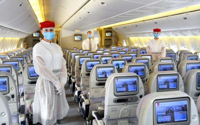 LOOK: Emirates implements additional safety measures for passengers, crew members