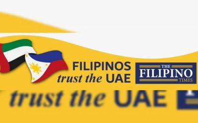 """Filipinos trust the UAE"": Filipinos reciprocate confidence in UAE's sincere care, compassion through Facebook profile sticker"