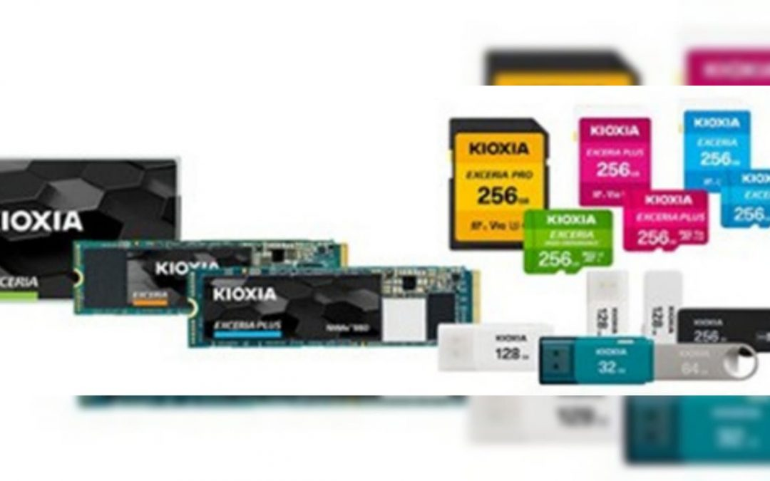 Toshiba launches Kioxia brand line up of memory cards, USBs, SSDs