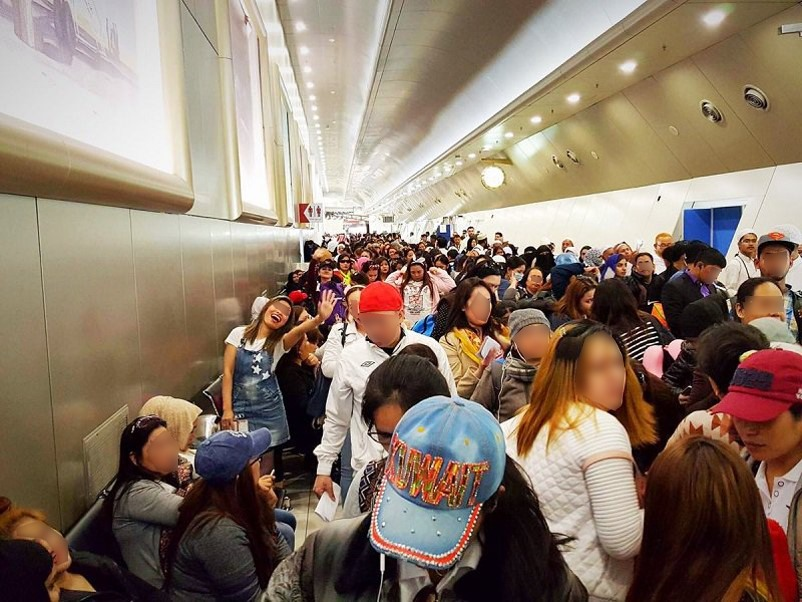 Let them go home: Returning OFWs asked not to be blocked