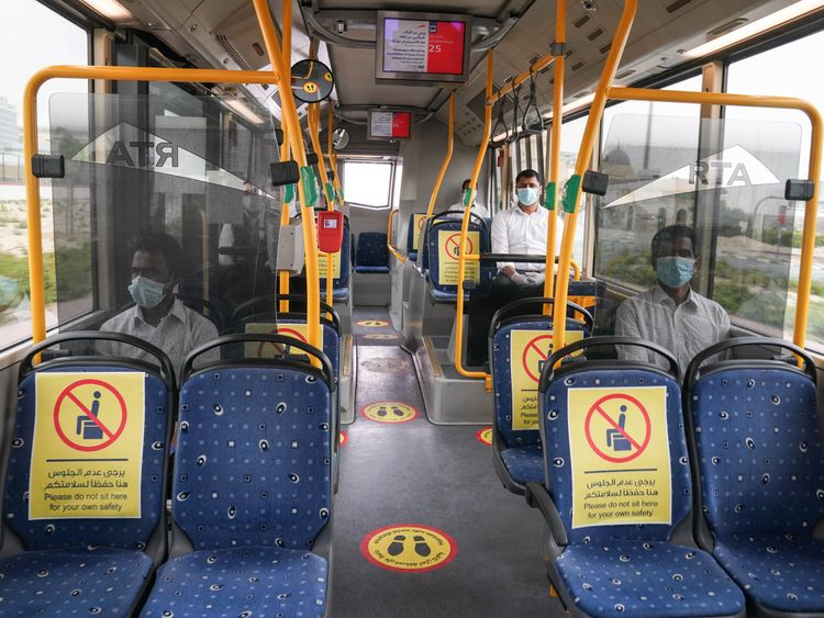 Dubai's RTA suspends inter-city bus services