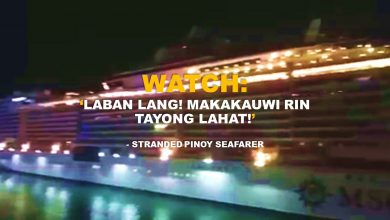 Photo of WATCH: Pinoy seafarer shouts out positive message to fellow Pinoys off Miami