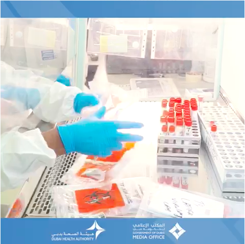 WATCH: Dubai shows off its virology lab for COVID-19