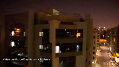 Photo of WATCH: Residents together sing UAE National Anthem from their balconies