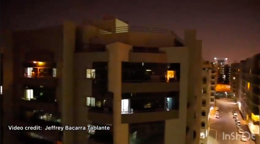 WATCH: Residents together sing UAE National Anthem from their balconies