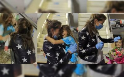 WATCH: Seven-year-old daughter from Germany reunites with mother in UAE