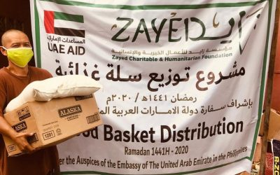 UAE Embassy distributes food baskets to 1,000 Muslim families in Manila