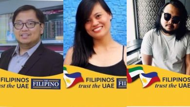 Photo of LOOK: Filipinos actively support for PH-UAE camaraderie through participation in Facebook sticker campaign