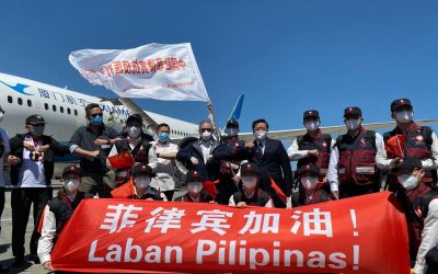 Chinese medical experts arrive in PH to help COVID-19 fight