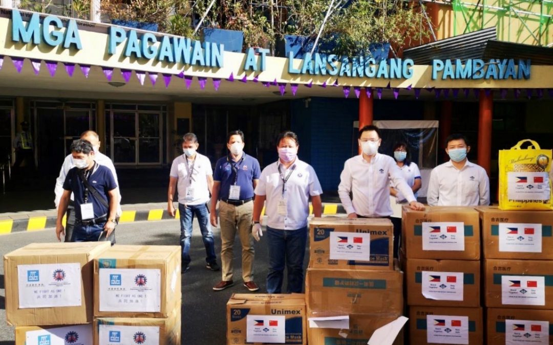 Philippines' DPWH spearheads distribution of donated personal protective equipment