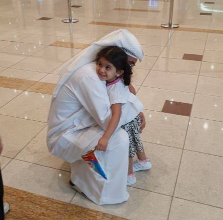 Three-year-old Emirati girl reunites with her parents in UAE after 50 days