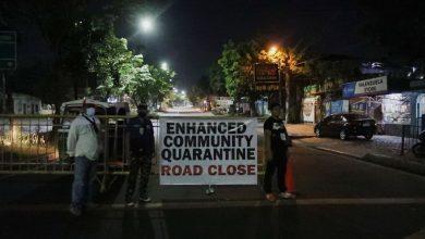 Photo of LIST: Areas under enhanced, general community quarantine until May 15