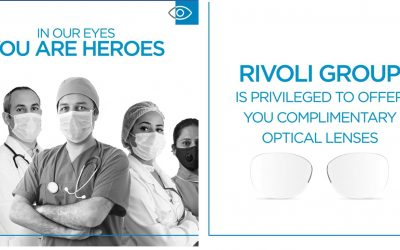 Rivoli EyeZone to give out free optical lenses for healthcare staff